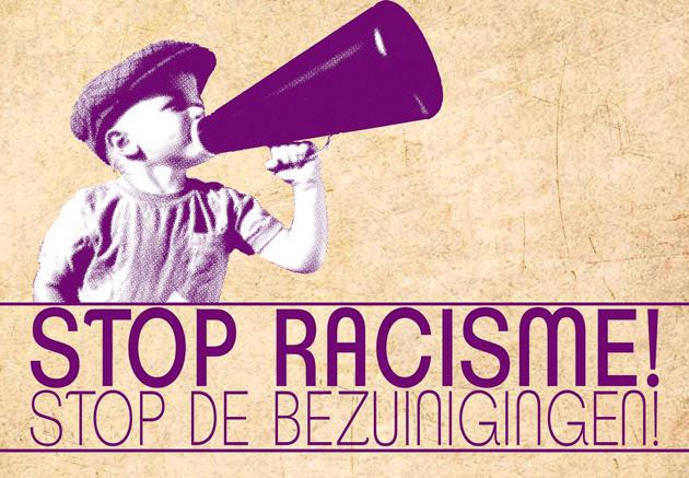 Stop het Racisme en de bezuinigingen